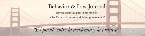 Segundo numero de la revista Behavior and Law Journal