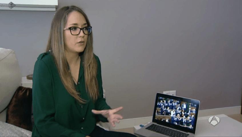 Alicia Martos entrevistada por Antena Tres - Behavior and Law