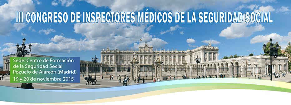 III Congreso de Inspectores Médicos de la Seguridad Social - Behavior and Law