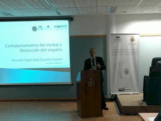 Vicente Altemir en Jornadas de Seguridad Casinos de Juego - Behavior and Law
